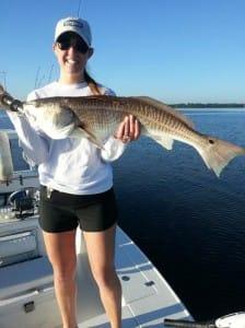 Inshore flats Redfish