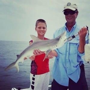 Deep Sea Fishing, Fine Tooth Shark