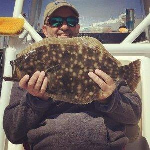 Deep Sea Fishing Flounder