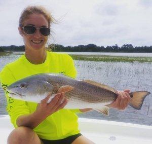 Inshore fishing charter Redfish