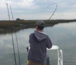 Charleston fishing Inshore