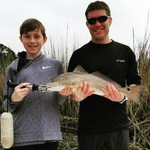 Inshore Fishing Charter Redfish