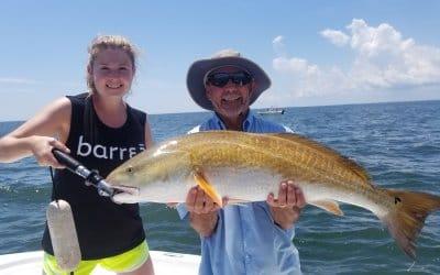 September Charter fishing forecast for Charleston SC