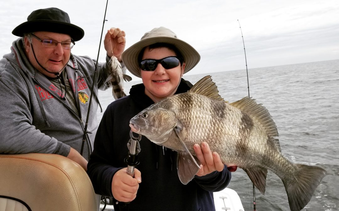 December charter fishing is full of opportunity!