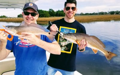 January Charter Fishing Report For Charleston and Folly Beach