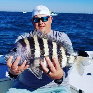 Nearshore fishing charter