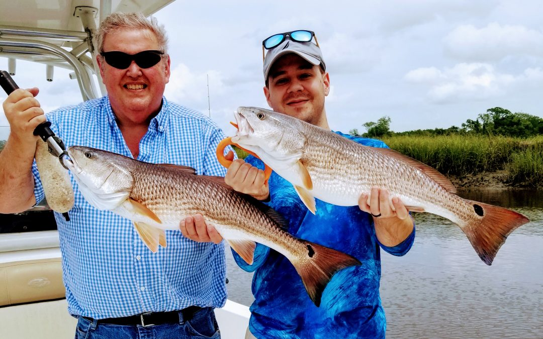 Charleston fishing charters and Folly Beach Charter fishing forecast for May