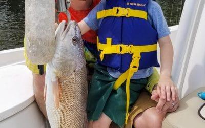 Charleston and Folly Beach April charter fishing forecast
