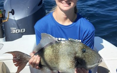 Folly Beach and Charleston fishing charters August report