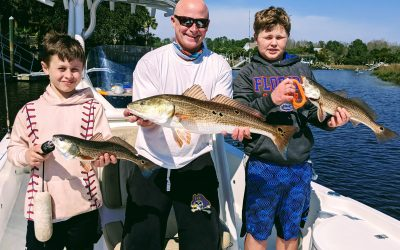 Charleston and Folly Beach fishing report for March 2021